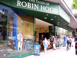 Now-defunct Tales of Robin Hood in 2006
