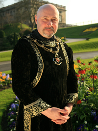 Councillor Leon Unczur, Sheriff of Nottingham, 2009-2010
